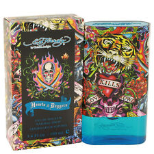 Ed Hardy Hearts & Dagger Cologne Christian Audigier Mens 3.4*1.7 Toilette Spray