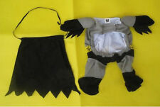 Pet Dog Cat High Quality Batman Costume Clothes Clothing with Cape xp us