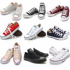 MEN'S WOMEN'S Chucks ALL STAR LOW Schuhe Canvas shoes Low to help Navy