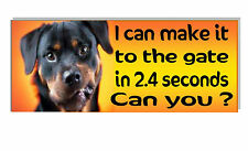 Warning Dog funny Plaque Sign OUTDOOR front door gate wall frontage security
