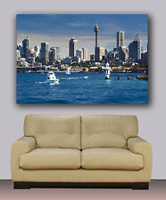 "Huge canvas print Sydney Skyline and Sydney tower 30""x40"""
