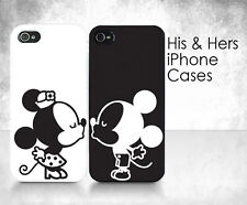 """His & Hers Cases - """"Couple Kissing"""" - 2 iPhone Cases"""
