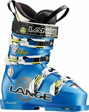 NEW Lange RS 120 SC Short Cuff Womens or Junior Racing Ski Boots 2014 Msrp$700