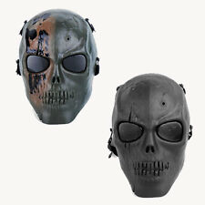 Hunting Military Airsoft Pistol Evil Zombie Full Face Skeleton Mask Scary Mask