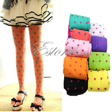 Candy Color Kids Baby Girls Tights Leggings Trousers Velvet Pantyhose Underpants