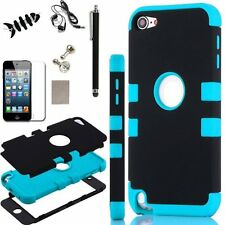 Hybrid Shockproof High Impact Rubber Hard Case Cover For iPod Touch 6th 5th Gens