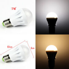 10pcs 7W E27 LED Globe Bulb Light Lamp Bright Day/Cool/Warm White 110/220V