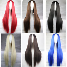 New Fashion Women's Wigs Full Long Bangs Cosplay Party Wig 75cm