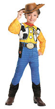 Disney Toy Story Woody Standard Boy Child Costume Famous Cartoon Theme Halloween