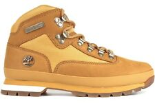 Timberland Euro Hiker 91566 Wheat Nubuck with White Mens New Boots Shoes 7~13