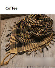 HOT Arab Shemagh Keffiyeh Military Tactical Palestine Light Scarf Shawl LT