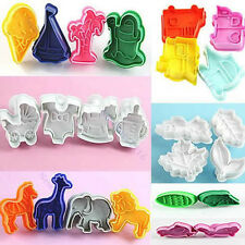 Fashion Design Cute Cutter Fondant Sugarcraft Craft Modelling Cake Mold Tools