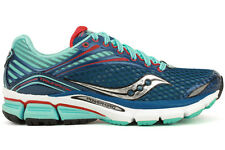Saucony Triumph 11 10223-2 New Women Blue Red Running Training Athletic Shoes