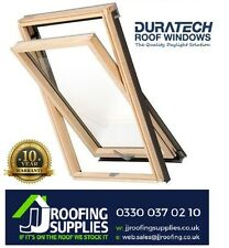 Duratech (Rooflite) Roof Window Skylight 1140 x 1180mm Inc . Flashing