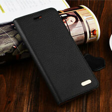 Genuine Real Leather Flip Stand Wallet Case Cover For iPhone 6 4.7/6 Plus 5.5''