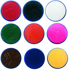 18ml Professional SNAZAROO FACE PAINTS Stage Make up Classic Colours Clown