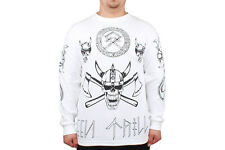 Been Trill Viking New Mens White Long Sleeve Classic Lifestyle Cotton Shirt