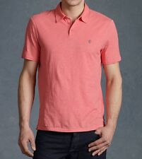JOHN VARVATOS STAR USA - more sizes - Peace Sign Grapefruit POLO $78 msrp - NWT