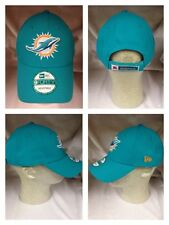 NFL Miami Dolphins New Era 9Forty The League Team Color Cap Hat Adjustable