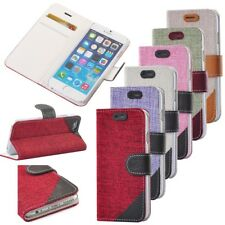 Luxury Durable Wallet Card Holder PU Leather Flip Case Pouch for Apple iPhone 6