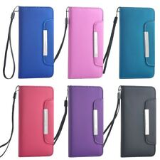 Premium PU Leather Wallet Flip Magnetic Chain Stnd Case Cover Pouch for iPhone 6