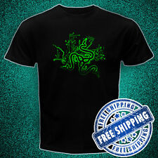 Razer Game Gear new logo Black t-shirt all size tktdwjo i