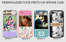 NEW PERSONALIZED CUSTOM PHOTO IMAGE MONOGRAM Rubber Case For IPHONE 6 / 6 PLUS