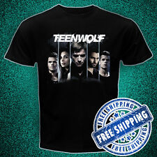 Teen Wolf crew Black t-shirt all size tktdwjo h