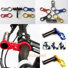 GUB Carbon Bike Bicycle Handle Bar Extender Mount Lamp Bracket Holder  #T1K