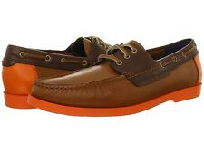 COLE HAAN - more sizes - Fire Island Twill / Chestnut Boat Shoe $158 msrp - NIB