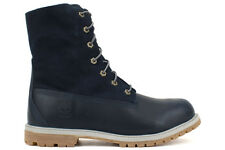 Timberland Earthkeeper Authentic Teddy Fleece 8312A New Womens Navy Boots Shoes
