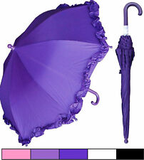 "Lot of 12 - New RainStoppers 34"" Child Kid Parasol Style Umbrellas-Free Shipping"