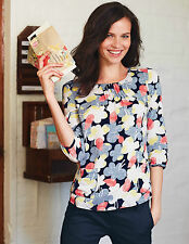 NEW!BODEN PRINTED POCKET TOP, CURRENT SEASON STYLE!SHIP WORLDWIDE!RSP 49 GBP