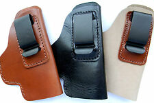 CEBECI LEATHER CCW IWB IN PANTS CLIP HOLSTER for TAURUS PT 709 740 SLIM