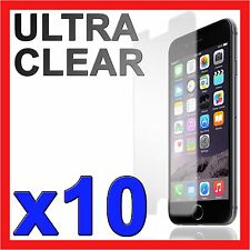 """10x Ultra Clear LCD Screen Protector Film for Apple iPhone 6 6S 4.7"""" 6 Plus 5.5"""""""