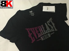 "Everlast T-Shirt Womens Black ""Devoted"" BNWT"