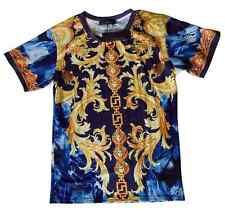 Brand New Authentic Versace T-Shirt With Gold Medusa Baroque Elements M,L,XXL