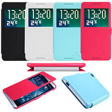 New Nillkin S-View Magnetic PU Leather Flip Case Smart Cover For HTC Desire 820