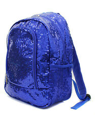 Sequin Solid Color Backpack Great for Cheer Dance Team Sports Travel School