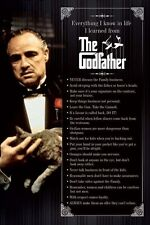New Sleeping with the Fishes The Godfather Poster
