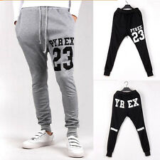 Newest Printed Men's Jogger Dance Sportwear Baggy Harem Pants Slacks Trousers MG