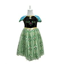 Disney Frozen Princess Anna Elsa Queen Girls Dress Costume Party Fancy Dress