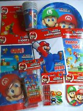 SUPER MARIO BROS.WII PARTY RANGE (Partyware/Balloons/Toys)