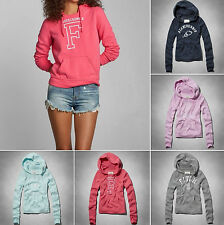 New!!! Abercrombie & Fitch Women Jana Hoodie Sweatshirt sizes XS, S, M, L