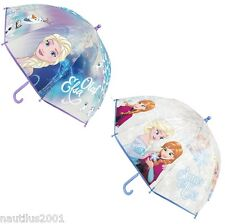 Paraguas Infantil FROZEN 46Cm 2 Colores - Princess Umbrella ELSA ANNA Disney