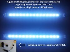 Aquarium Tank LED lighting 2 pcs Rigid strip Plastic tube light 10 inch / 25 cm