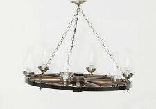 Hand Made Wagon Wheel Chandelier from Lancaster PA  Amish
