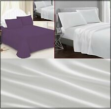 Flat Sheet All Sizes Premium Quality available 24 Colors