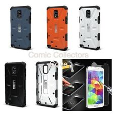 Genuine Urban Armor Gear UAG Hard Case Cover Samsung Galaxy Note 4 / Tempered S