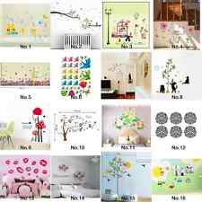 Animal Bathroom Wash Wall Stickers Decoration Decal Home Room Mural Removable